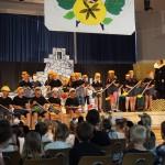 Maulwürfe tanzen im Musical